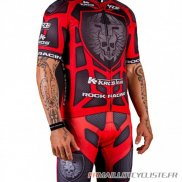 MAILLOT Rock Racing MANCHES COURTES Rouge 2016