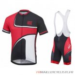 MAILLOT Rose MANCHES COURTES Rouge 2016
