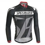 2016 Maillot Specialized Termico Pantalones con Peto Negro Y Gris