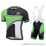MAILLOT Rose MANCHES COURTES Vert 2016
